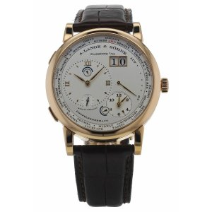 A. Lange & Sohne [NEW] Lange 1 Time Zone 116.032F (Retail:EUR49100)
