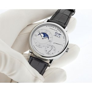 A. Lange & Söhne 全新 139.025 Grand Lange 1 Moon Phases de Lune Platinum
