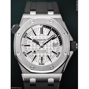 Audemars Piguet [NEW] Royal Oak Offshore Diver White Dial 15710ST.OO.A002CA.02 (Retail:HK$149,000)