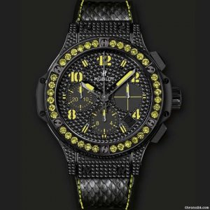 Hublot [NEW+RARE] Big Bang Black Fluo Yellow 341.SV.9090.PR.0911