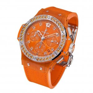Hublot [全新] 341.XO.2770.NR.1206 Big Bang Orange Linen (Retail:CHF$15,900)