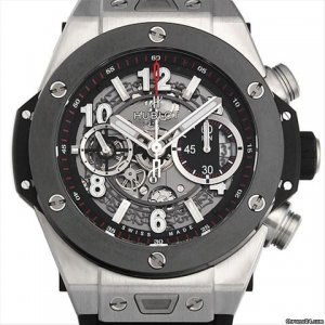 HUBLOT [全新] 411.NM.1170.RX  Big Bang Unico Titanium Ceramic Skeletal Dial Men's Watch (Retail:US$19,900)