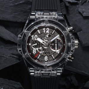Hublot [NEW][LIMITED 500] Big Bang UNICO Magic Sapphire 411.JX.1170.RX (Retail:EUR 57000)