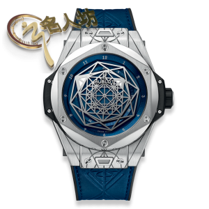 HUBLOT [NEW] BIG BANG SANG BLEU TITANIUM BLUE 45mm 415.NX.7179.VR.MXM18