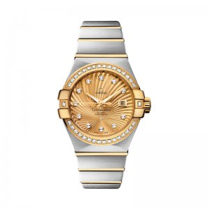 Omega [NEW] Constellation Co-Axial 38mm 123.25.38.21.58.001 (Retail:HK$125,400)