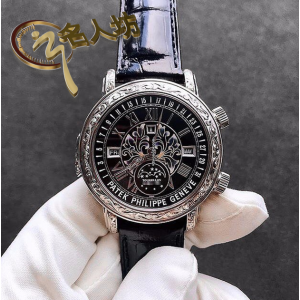 Patek Philippe [2017 NEW][SUPER RARE] Grand Complications Sky Moon Tourbillon 6002G-010 Black Dial