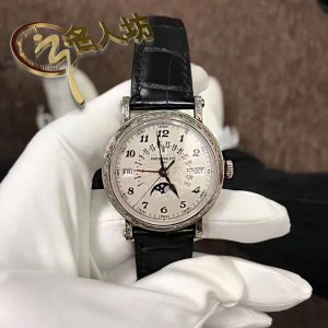 Patek Philippe [2018 USED] Grand Complications 5160/500G White Gold Mens Watch