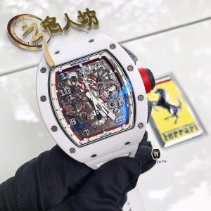 Richard Mille [2017 USED][LIMITED 30 PIECE] RM 011 Asia Ceramic Red Date Version