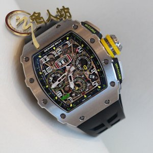 Richard Mille (理查德•米勒) [NEW] RM 11-03 Titanium Automatic Flyback Chronograph Facelift