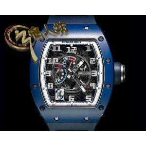 Richard Mille [NEW][LIMITED 100 PIECE] RM 030 EMEA Blue Ceramic Watch