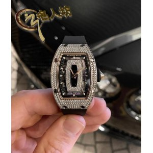 RICHARD MILLE [NEW] RM 07-01 WHITE GOLD LADIES FULL SET DIAMOND WATCH