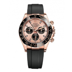 Rolex [NEW] Cosmograph Daytona Everose Gold 116515LN Pink Dial Watch