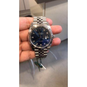 Rolex [NEW] 126334G Blue Jubilee 41mm Mens Watch (Retail:HK$85,800)