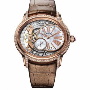 Audemars Piguet [NEW] Ladies Millenary Hand Wound Ladies 77247or.zz.a812cr.01 (Retail:US$28,400)