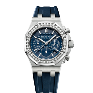 AUDEMARS PIGUET [NEW] ROYAL OAK OFFSHORE CHRONOGRAPH 26231ST.ZZ.D027CA.01 BLUE DIAL WATCH