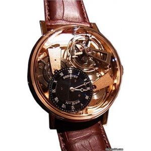 Breguet [NEW] Tradition 7047 Fusee Tourbillon 7047BR/R9/9ZU (Retail:CHF$170,000)
