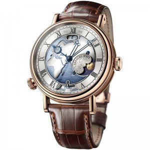 BREGUET [全新] 5717BR/AS/9ZU Classique Hora Mundi 18k Rose Gold (Retail: CHF$77,000)