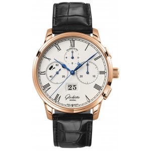 Glashütte Original [NEW] Senator Chronograph Panorama Date Mens 37-01-01-05-30
