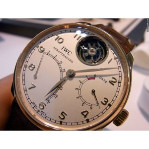 IWC [NEW] 44mm Portuguese Tourbillon Mystere Retrograde IW504402 (Retail:HK$905,000)