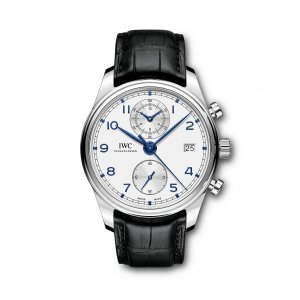IWC NEW IW390302 Portugieser Chronograph Classic Mens Watch