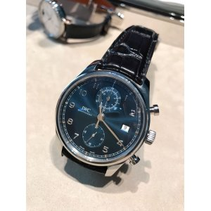 IWC NEW IW390303 Portugieser Chronograph Classic Mens Watch