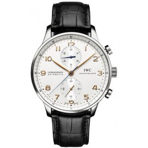 IWC [NEW] Portuguese Automatic Chronograph IW371445 (List Price: HK$ 60,600)