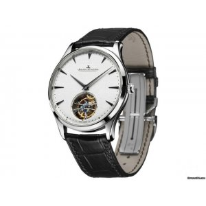 JAEGER LECOULTRE [NEW] Master Ultra Thin Tourbillon Silver Dial WG Q1323420 (Retail:US$73,000)