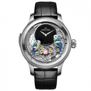 Jaquet-Droz NEW Les Ateliers d'Art Automata THE BIRD REPEATER J031034203 (Retail:CHF 450,000)