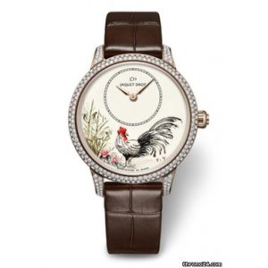 JAQUET DROZ [NEW][LIMITED 28] Chinese Rooster 2017 J005003222 (Retail:CHF 35300)