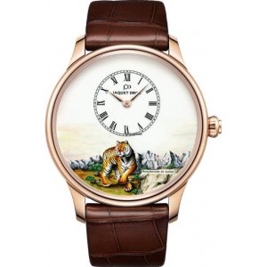 Jaquet Droz [NEW][LIMITED 88][全新限量88支] Petite Heure Minute Tiger J005033297 (Retail:CHF 28900)