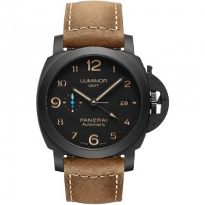 Panerai [NEW] Luminor 1950 3 Days GMT 44mm Ceramica PAM 1441 (Retail:HK$84,800)