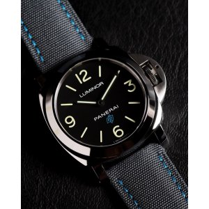 Panerai [NEW] Luminor Base Blue Logo 3 Days Acciaio PAM 774 (Retail:HK$36,200)