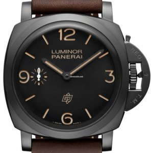 Panerai NEW PAM 617 Luminor 1950 3 Days Titanio DLC Special Editions Watch LIMITED EDITION