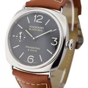 Panerai NEW-全新 PAM0609 Radiomir Black Seal 8 Days (Retail:US$6,000)