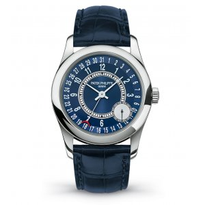 Patek Philippe [NEW] 6000G-012 White Gold Calatrava Blue Dial (Retail: HK$209,600)