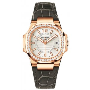 Patek Philippe [NEW] 7010R Nautilus Ladies Rose Gold Watch (Retail:HK$236,800)