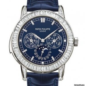 Patek Philippe [NEW] [COLLECTABLE] Grand Complications 5073P-010 Blue Platinum Diamond 42mm - SOLD!!