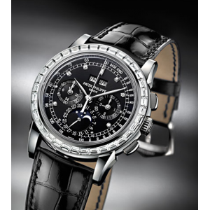Patek Philippe [NEW] Perpetual Calendar Chronograph Platinum 5971P Watch