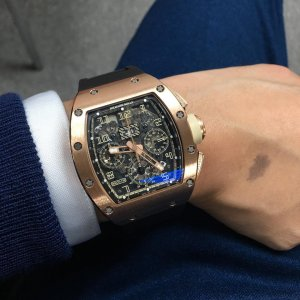 Richard Mille [2013 USED] RM 011 IVORY Felipe Massa Automatic Watch