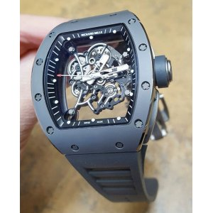 Richard Mille [2016 USED][LIMITED 100 PC] RM 055 Grey Bubba Watson Boutique Edition