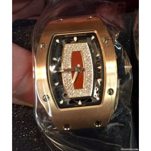 Richard Mille [NEW] RM 07-01 Rose Gold Jasper Ladies Auto (Retail:US$100,000)