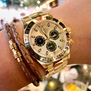 Rolex [NEW] 116508 Daytona Light Champagne New 2018 Dial YG Watch