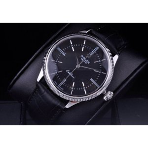 Rolex [NEW] Cellini Time White Gold 50509 Black Watch (Retail: HK$118,500)