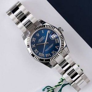 Rolex [NEW NO STICKER] Datejust 31mm Stainless Steel 178274 Blue Roman Oyster (Retail:HK$55,500)