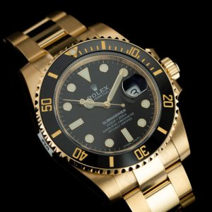Rolex [NEW]Oyster Perpetual Submariner Date 116618LN Black Dial Mens Watch