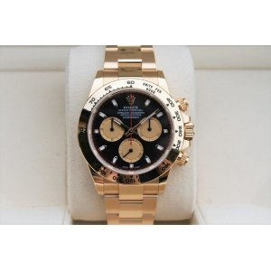 Rolex [NEW] Yellow Gold 116508 Paul Newman Black Cosmograph Daytona