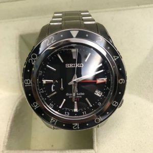 """Seiko [Per-Owned] SBGE001 9R66-0AA0 Grand Seiko Spring Drive GMT """"Master Shop"""" LIMITED"""