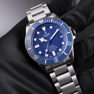 TUDOR [NEW] Pelagos Chronometer Automatic Blue Dial Titanium 25600TB Mens Watch